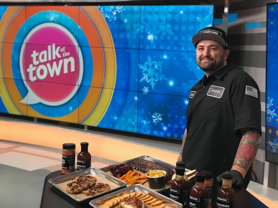 "Candied Bacon Cookies on ""Talk of the Town"""